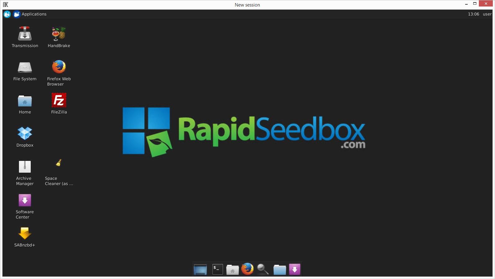 Seedbox Remote Desktop