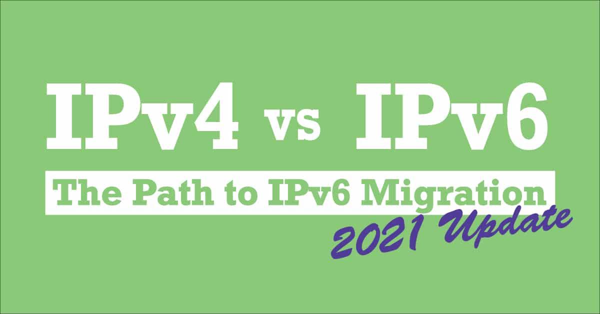 IPv4 vs IPv6.