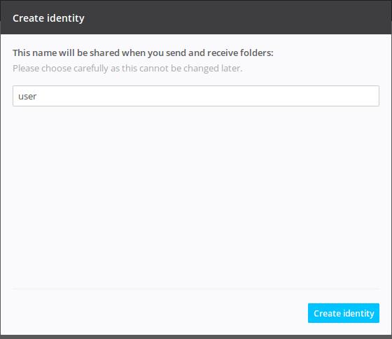 user create resilio