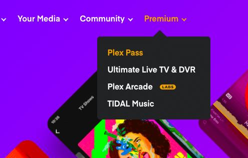 Plex Media Server Premium.