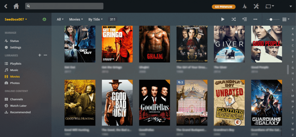 Plex Media Collection