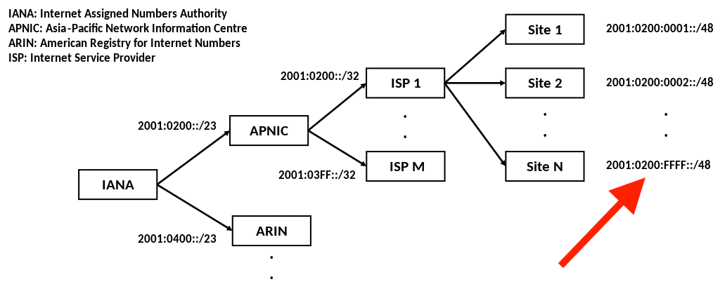 IPv6 Allocation.