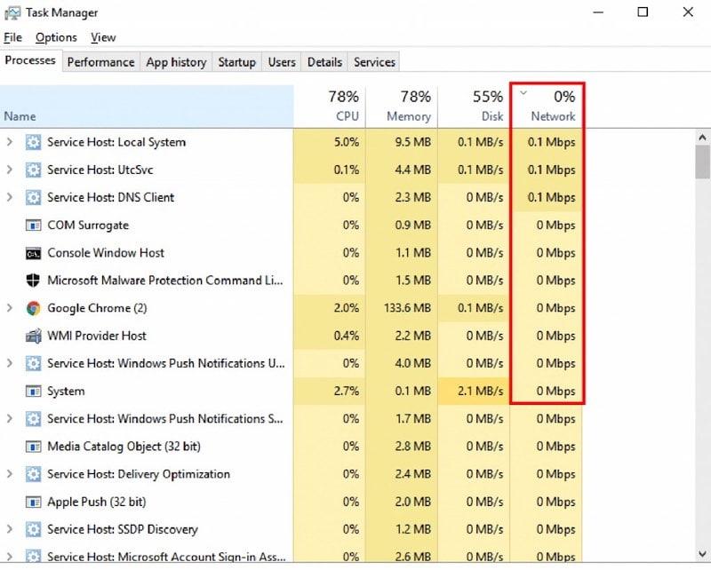 Optimizing bandwidth for computer.